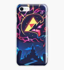 Skizorr - Ganon & Hyrule Castle iPhone Case/Skin