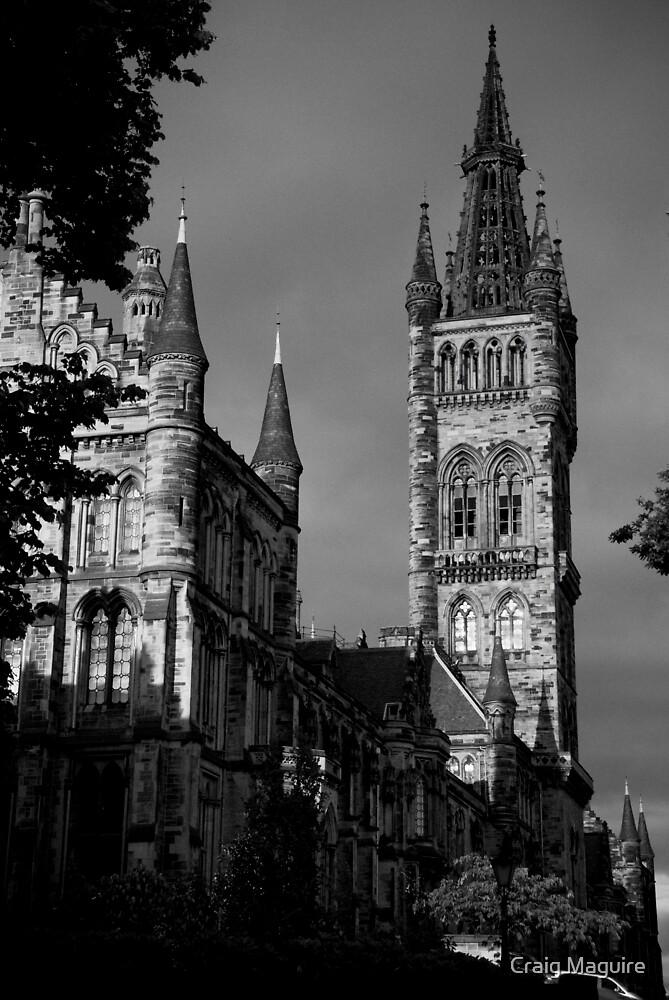 Glasgow University by Craig Maguire