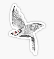 Vector pheasant Sticker