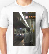 Train approaching, Tokyo, Japan T-Shirt
