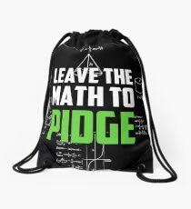 """Mochila de cuerdas """"Deja las matemáticas a Pidge"""" - Keith - Klance - Voltron"""