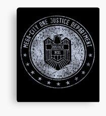 Mega-City One Justice Department (Dredd) Canvas Print