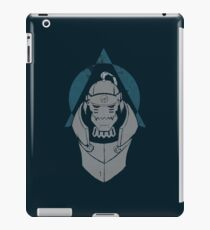 Alphonse Elric Grunge iPad Case/Skin