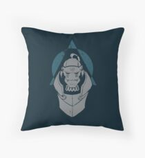 Alphonse Elric Grunge Throw Pillow