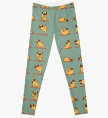 Pug Yoga Leggings