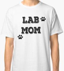 Camiseta clásica Funny Lab Mom T-shirt Labrador camisetas