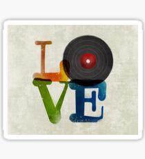 Love is Music, Music is Love Sticker