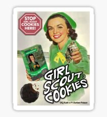 Girl Scout Cookies #1 Sticker