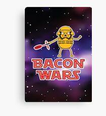 Bacon wars - Jake Canvas Print