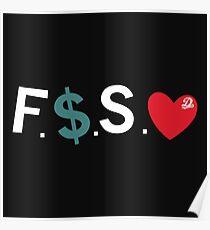 Fuck Money, Spread Love Poster