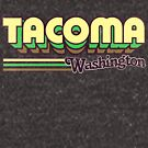 Tacoma, WA | City Stripes by retroready