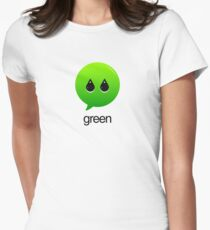 GREEN TYPOGRAPHY T-Shirt