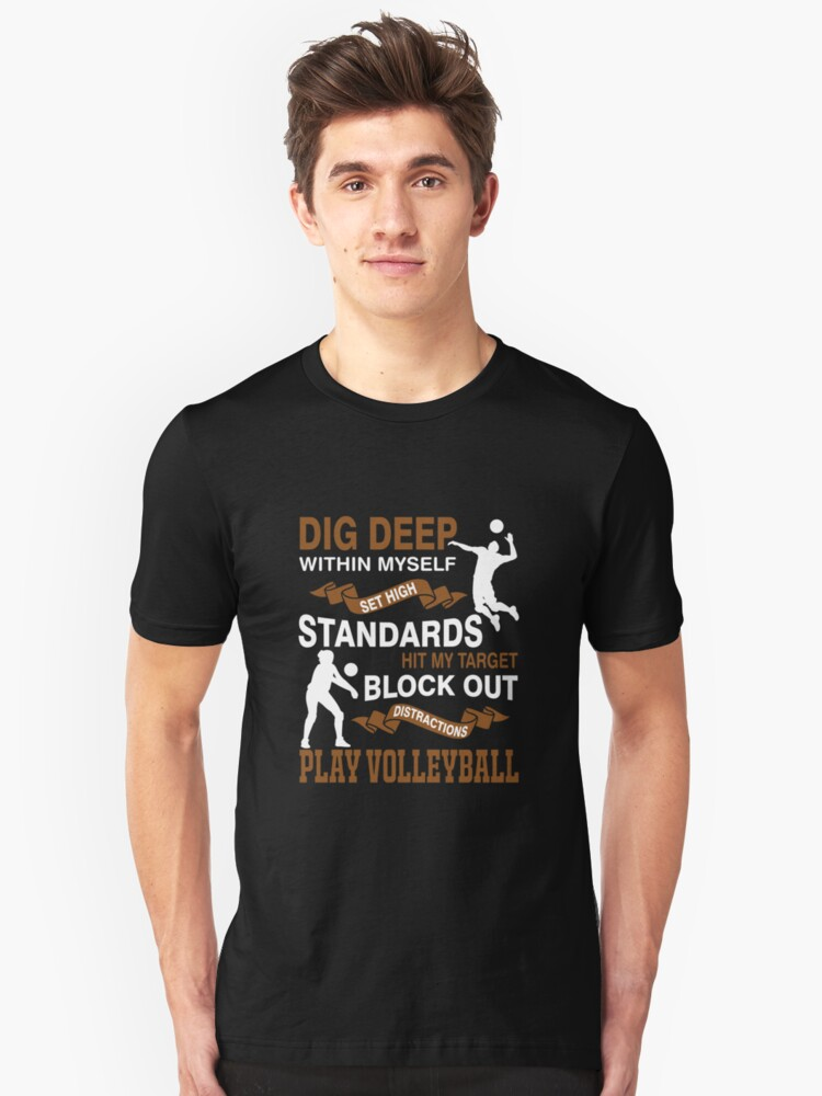 Funny Tshirts For Volleyball Player Best Birthday Gifts