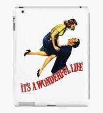 A wonderfull life iPad Case/Skin