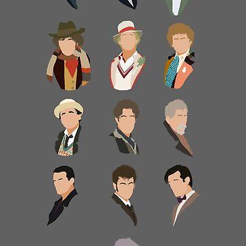 Many faces, many lives by MrSaxon101