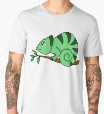 Cute chameleon Men's Premium T-Shirt