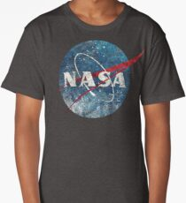 NASA Space Agency Ultra-Vintage Long T-Shirt