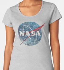 NASA Space Agency Ultra-Vintage Women's Premium T-Shirt