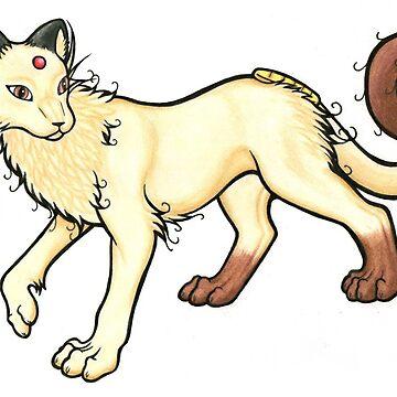 Meowth/Persian Hybrid by ArkainStudios