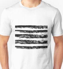 Ink stripes Unisex T-Shirt