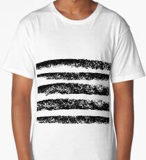 Ink stripes Long T-Shirt