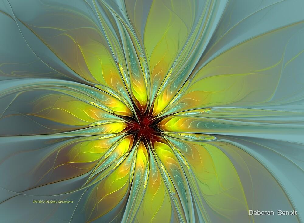Morning Burst by Deborah  Benoit