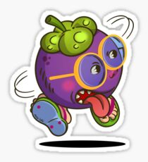 Mangosteen Drawing Stickers Redbubble