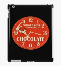 GIVE THE GIFT OF TIME TO THE CHOCOHOLIC IN YOUR LIFE  iPad Case/Skin