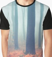 Whispers - Silent Fall Forest Graphic T-Shirt