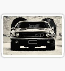 American Muscle Car Sticker