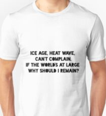 Ice Age, Heat Wave Unisex T-Shirt