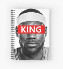 LeBron James - King Spiral Notebook
