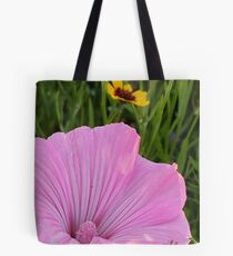 A Study in Pink and Gold Tote Bag