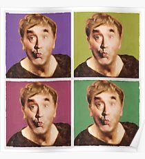 Pop Art Frankie Poster