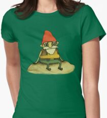 Garden Gnome Women's Fitted T-Shirt