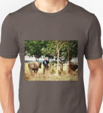 *Moving the Bulls to another paddock - 2013 - Kirkstall* Unisex T-Shirt