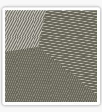 Business as Usual - Voronoi Stripes Sticker