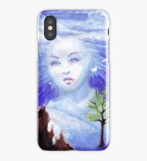 The portrait of Juliet from Romeo and Juliet iPhone Case/Skin
