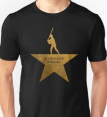 Mark Hamilton - Gold Unisex T-Shirt