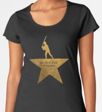 Mark Hamilton - Gold Women's Premium T-Shirt