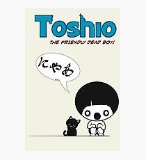 Toshio Photographic Print