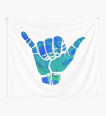 Trippy Shaka Design Wall Tapestry