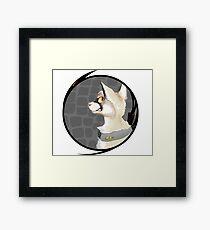 GLaDOS - Purrtal Framed Print