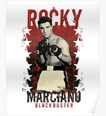 Rocky Marciano (The Brockton Blockbuster) Poster