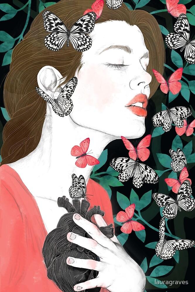 Butterflies // you make my heart flutter by lauragraves