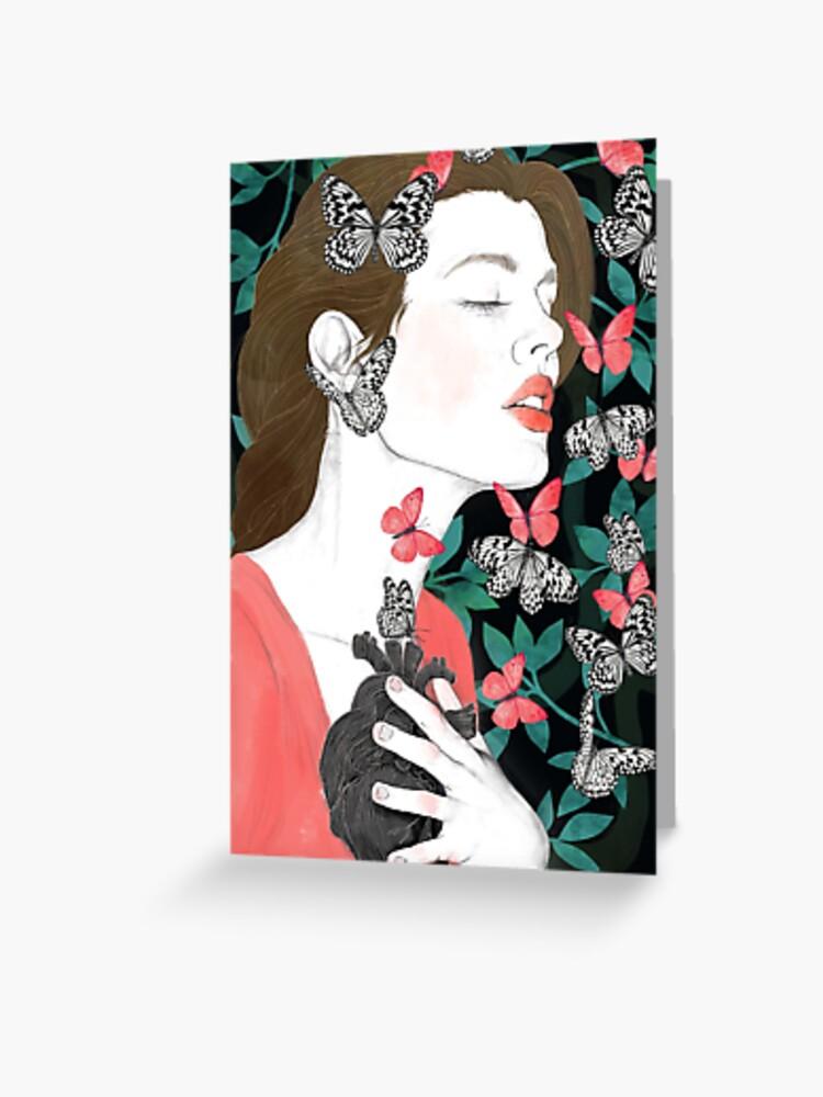 Butterflies // you make my heart flutter | Greeting Card