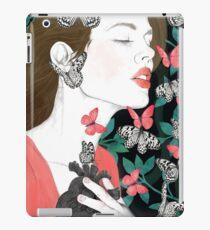 Butterflies // you make my heart flutter iPad Case/Skin