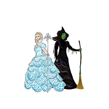 Elphaba and Glinda by MissElphie