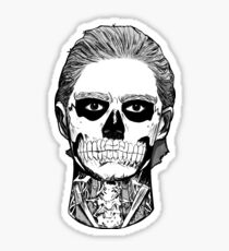 Skull Boy. Sticker