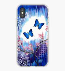Blue Butterflies iPhone Case